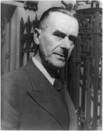 トーマス・マン 1937年
