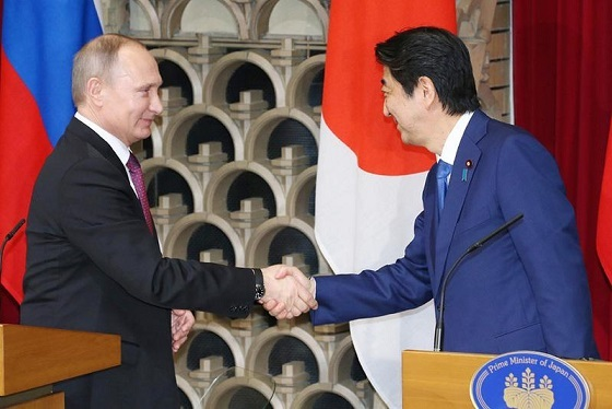 安倍総理 プーチン 日ロ共同記者会見 2