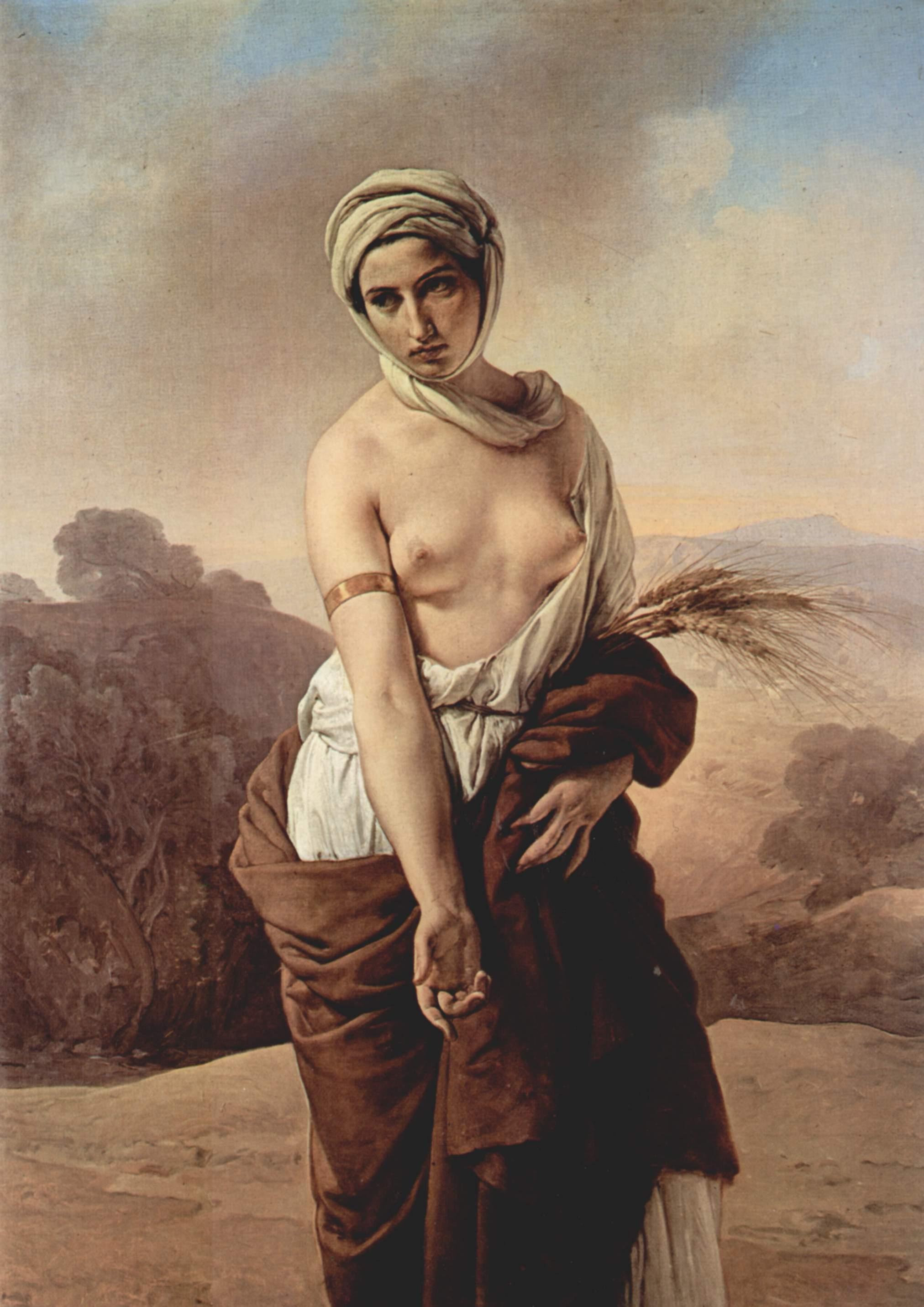 フランチェスコ・アイエツ『ルツ』1835年