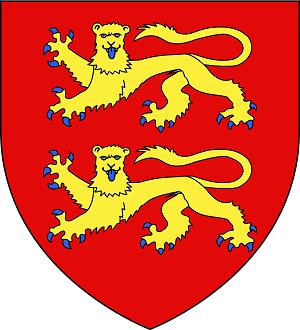 ノルマンディー公国の紋章