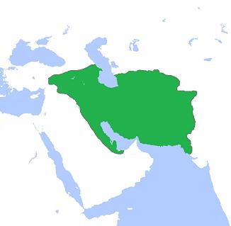 パルティア王国の最大領土