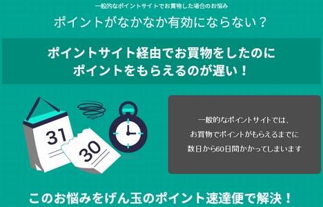 げん玉 ポイント速達便02