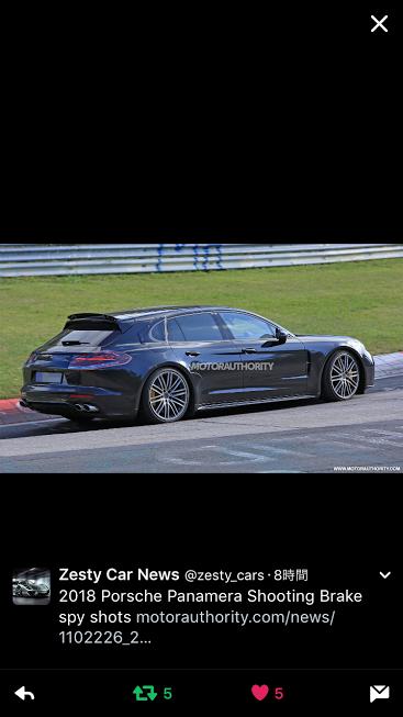 PorscheポルシェPanameraShootingBrake_TW_20161030
