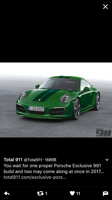 Porscheポルシェ991SC_TW_20161112