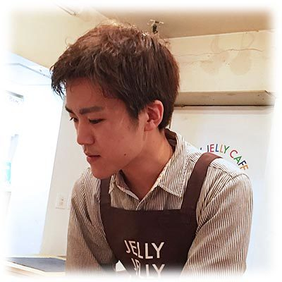 Jelly Jelly Cafe 和久さん写真