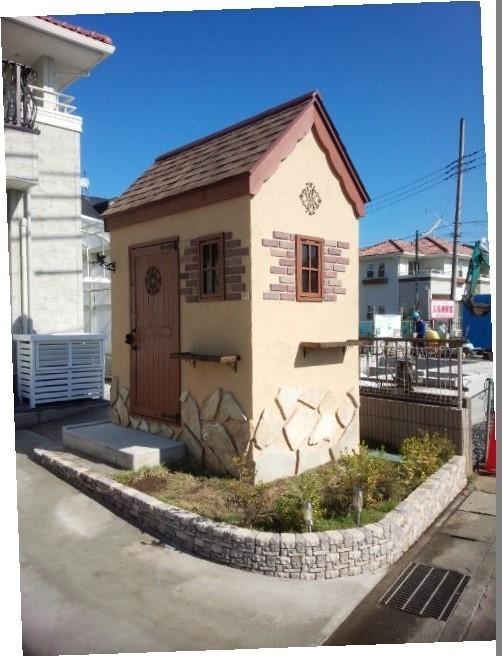 小山市 メルヘンチックな物置完成 - シマ建築設計スタッフBlog ...