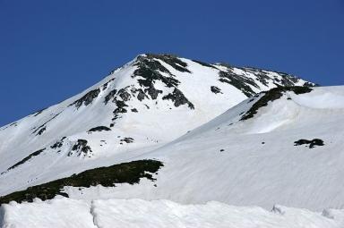 夏山登山の浄土山