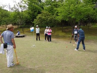 年一度のグランドゴルフでは・・・