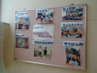 2年生の田上大発見ポスター
