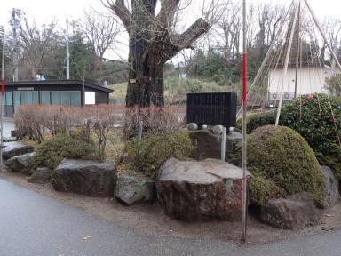 像の復活場所は、田上小のシンボルの横へ