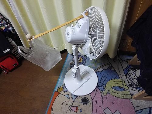 扇風機で自動孵化装置1