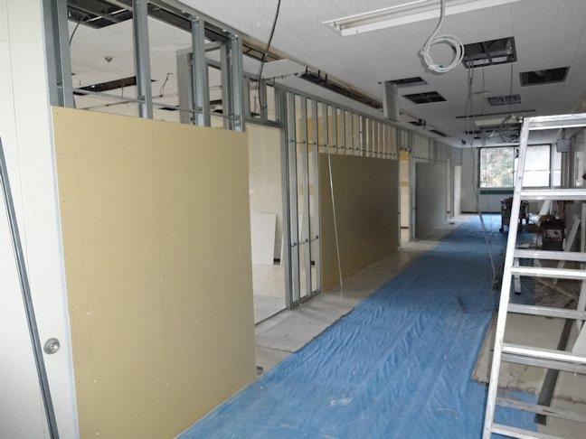 特別養護老人ホームいづはら2改修工事~内装下地工事中 2