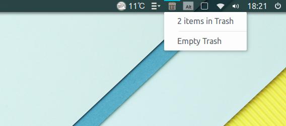 Adapta-gtk-theme Ubuntu マテリアルデザイン テーマ パネル