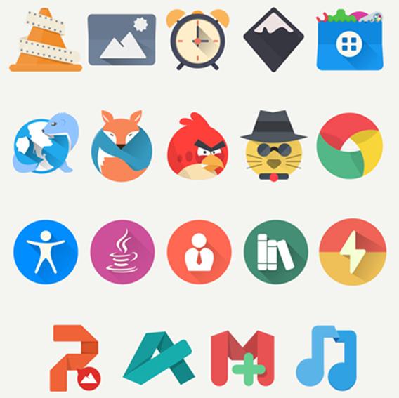 Oranchelo Icon Theme Ubuntu アイコンテーマ サンプル
