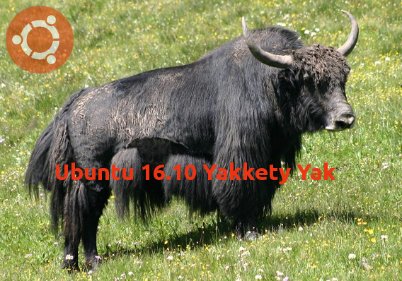 Ubuntu 16.10 Yakkety Yak リリース