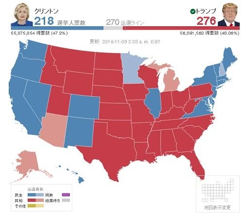 2016大統領選挙