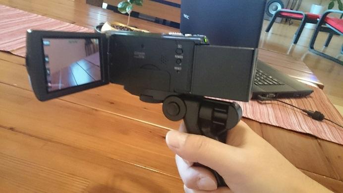 ビデオ装着①