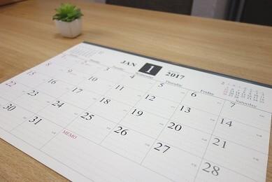 カレンダー①