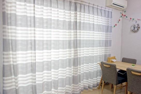 リビングカーテン⑤