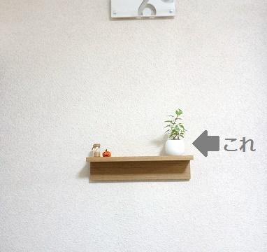 無印 壁に付けられる家具①
