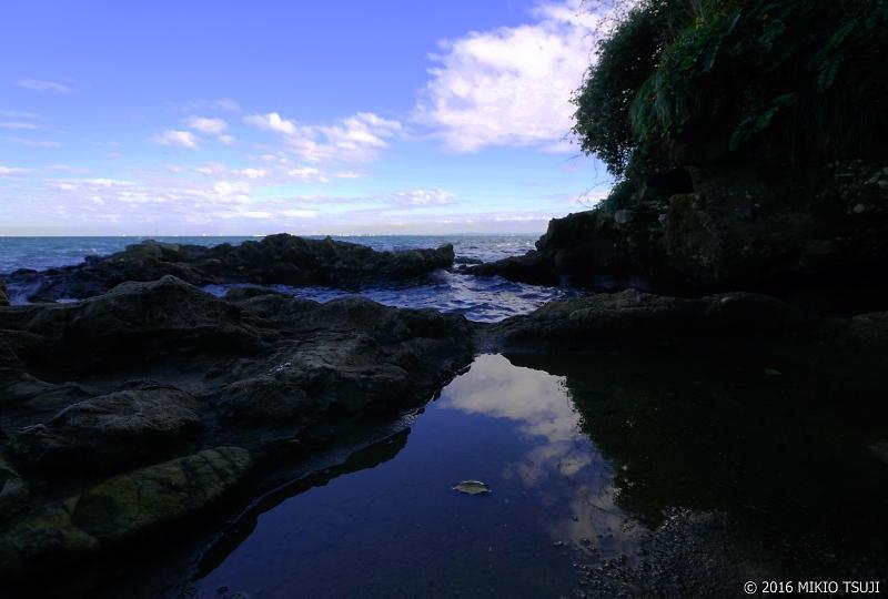絶景探しの旅 - 0080 水たまりの海 (猿島/神奈川県 横須賀市)